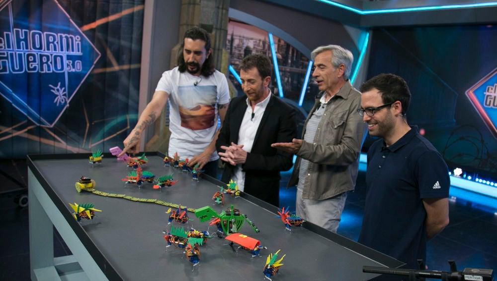 Marron y Javi explican en 'El Hormiguero 3.0' en qué consiste la robótica , ¿lo habrá entendido Imanol Arias?