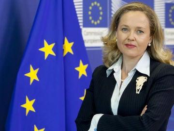Nadia Calviño, ministra de Economía del Gobierno de Pedro Sánchez