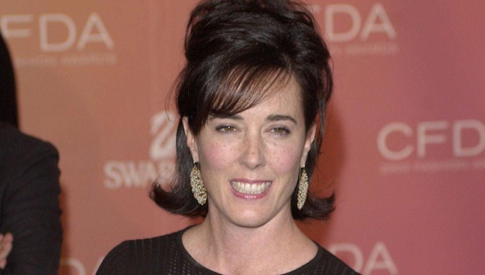 La diseñadora Kate Spade