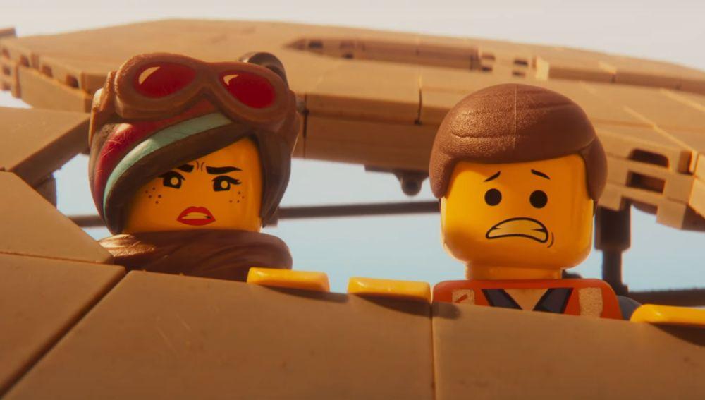 Emmet y Wildstyle en 'La LEGO Película 2'