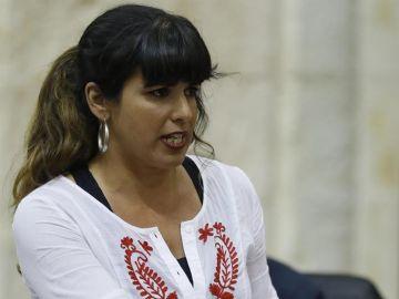 La líder de Podemos en Andalucía, Teresa Rodríguez