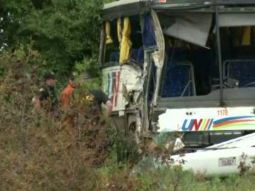 <p>Al menos 24 heridos en un accidente de autobús en el este de Ontario</p>