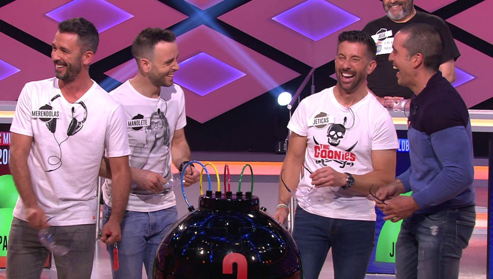 Conoce los divertidos nombres de los concursantes del equipo de 'Los Muflis' en '¡Boom!'