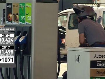 """<p>El boom de las gasolineras """"low cost"""" en España</p>"""