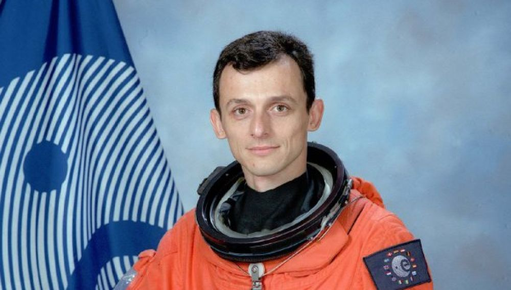 Imagen del astronauta Pedro Duque