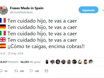 Frases Made In Spain