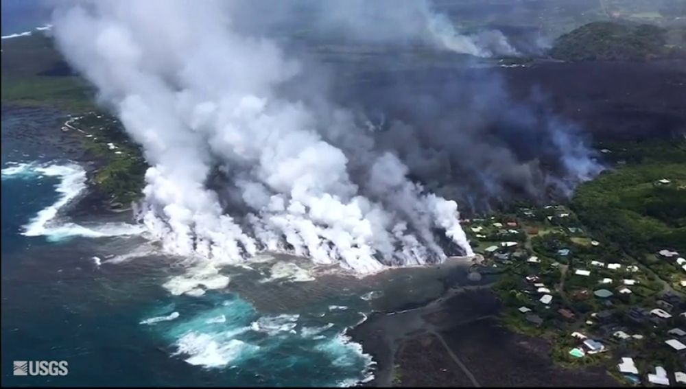 <p>El Kilauea arrasa un centenar de viviendas en Hawaii</p>