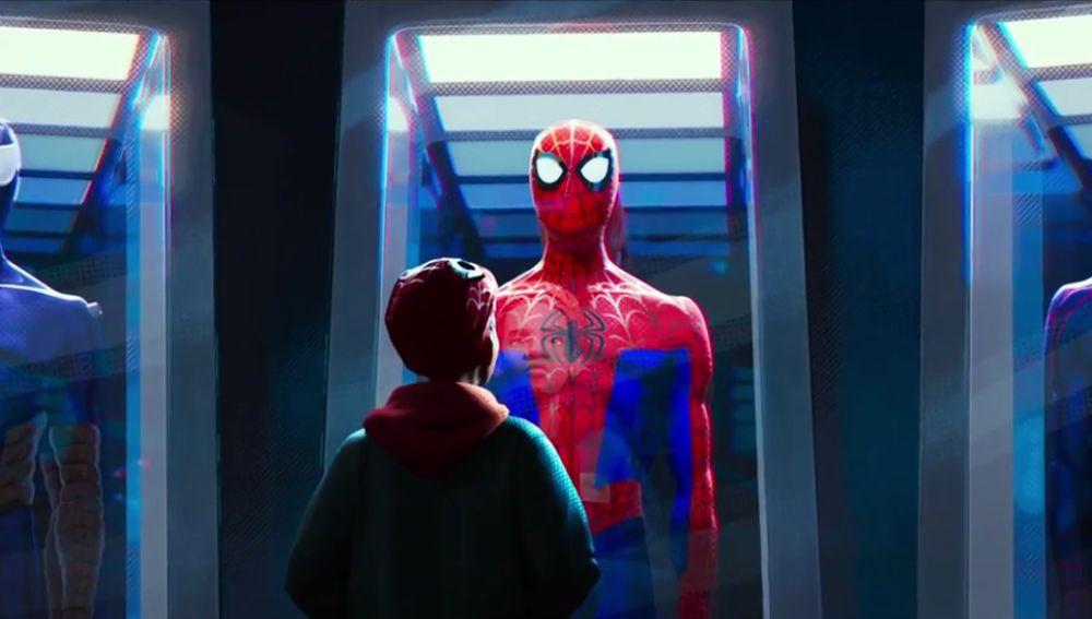 Miles Morales en 'SpiderMan: Un nuevo universo'