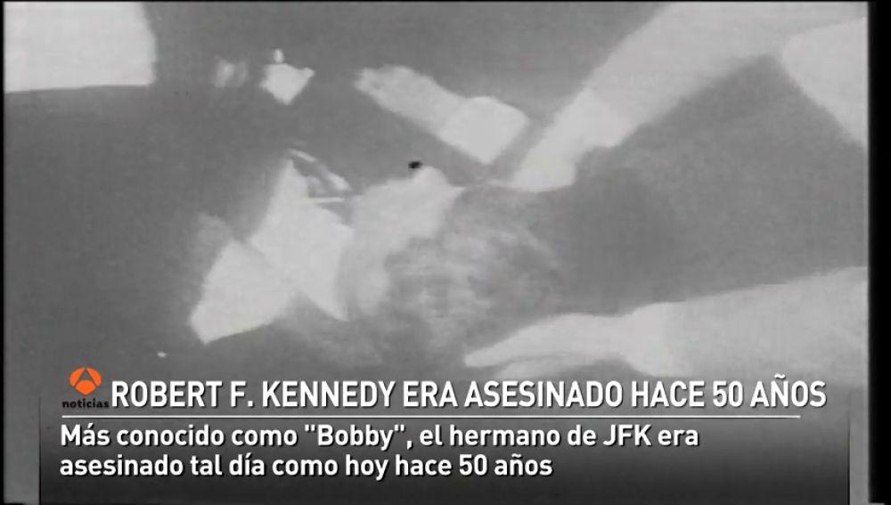 <p>El asesinato de Robert F. Kennedy hace 50 años producía el ocaso del progresismo en Estados Unidos</p>