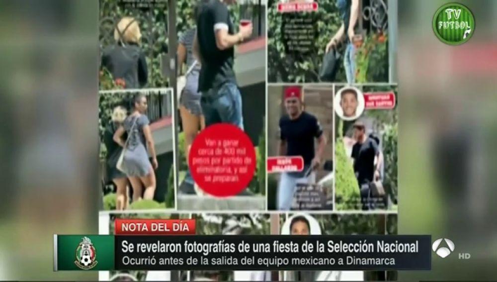 <p>Escándalo sexual en México: ocho jugadores de la selección, captados en una fiesta con prostitutas</p>