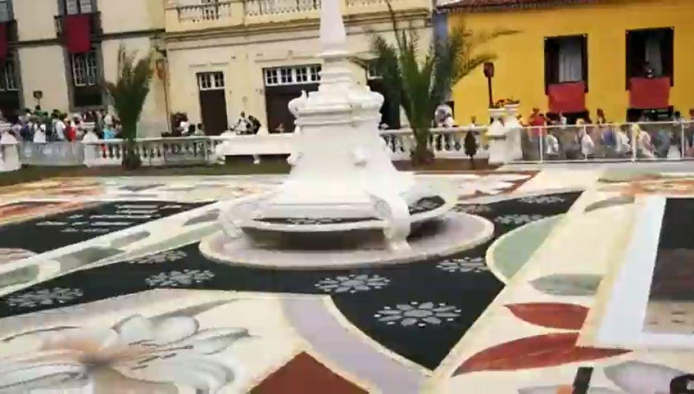 La Orotava, en Tenerife, celebra hoy el día grande del Corpus Christi