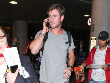 Chris Hemsworth en Los Angeles