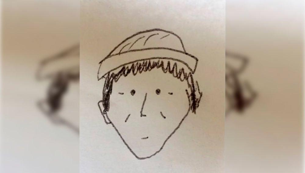 El increíble caso de un delincuente que fue identificado por un boceto infantil