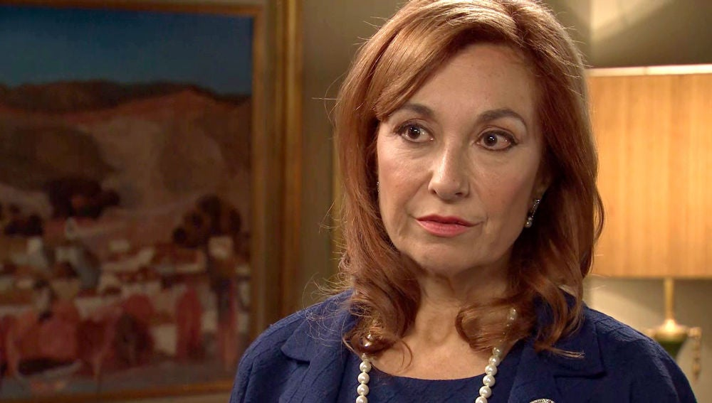 Isabel descubre que ha vivido en una mentira