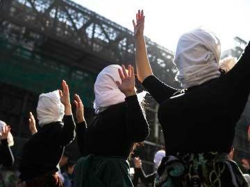 Manifestaciones en Chile para defender los derechos de las mujeres