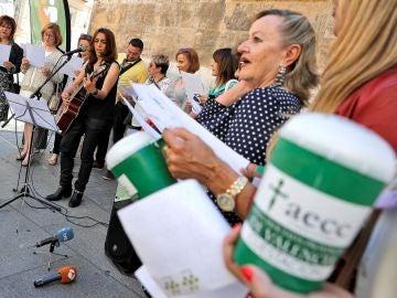 La Asociación Española contra el Cáncer celebra un acto de apoyo a pacientes