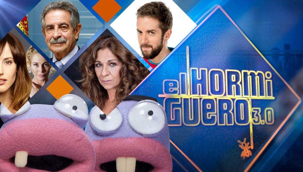 Belén Rueda y Natalia de Molina, Miguel Ángel Revilla, Lolita y David Broncano