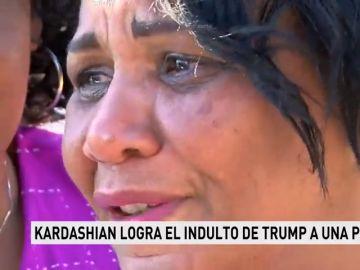 Kim Kardashian logra el indulto de Trump a una presa