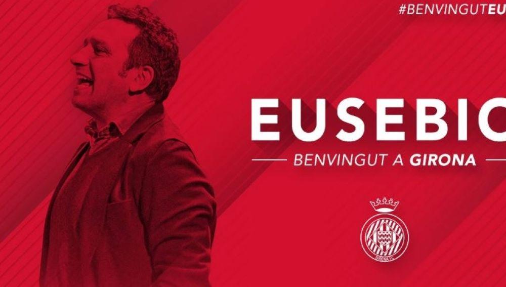 Eusebio, nuevo técnico del Girona