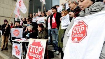 Concentración de Stop Desahucios (Archivo)