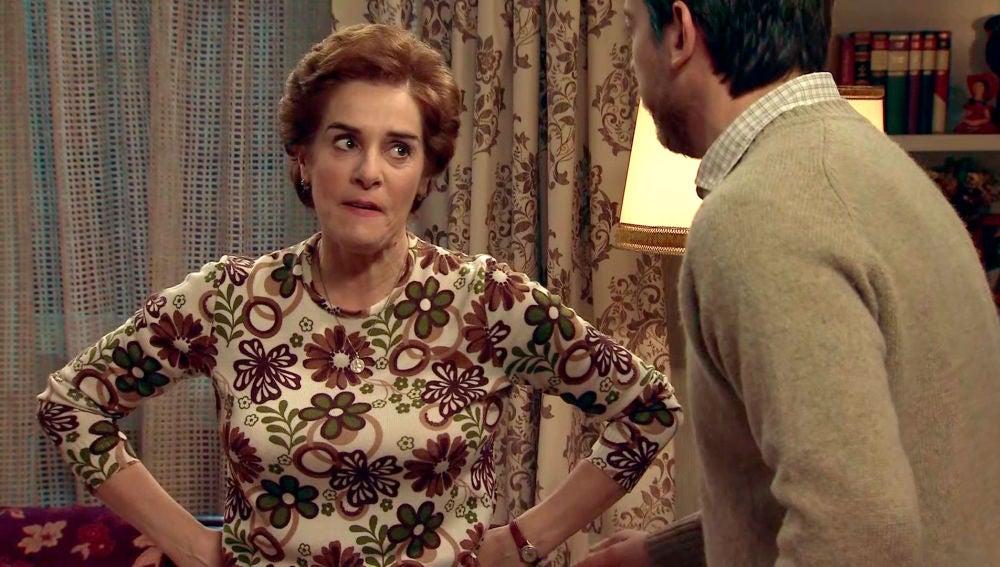 Benigna descubre la verdadera infidelidad de Marcelino