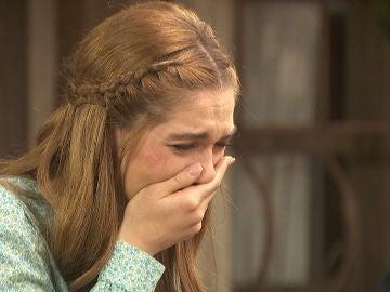 Julieta se derrumba al conocer el trágico destino de Saúl