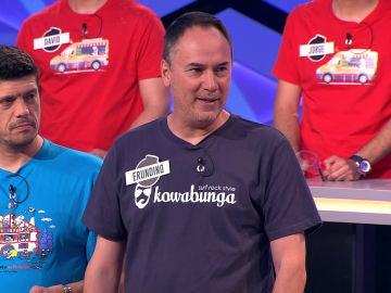 La invitación de Erundino, del equipo de 'Los Lobos', a 'Los Rockcampers' en '¡Boom!'