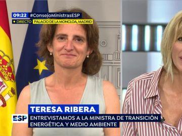 Teresa Ribera, ministra de Transición Energética y Medio Ambiente