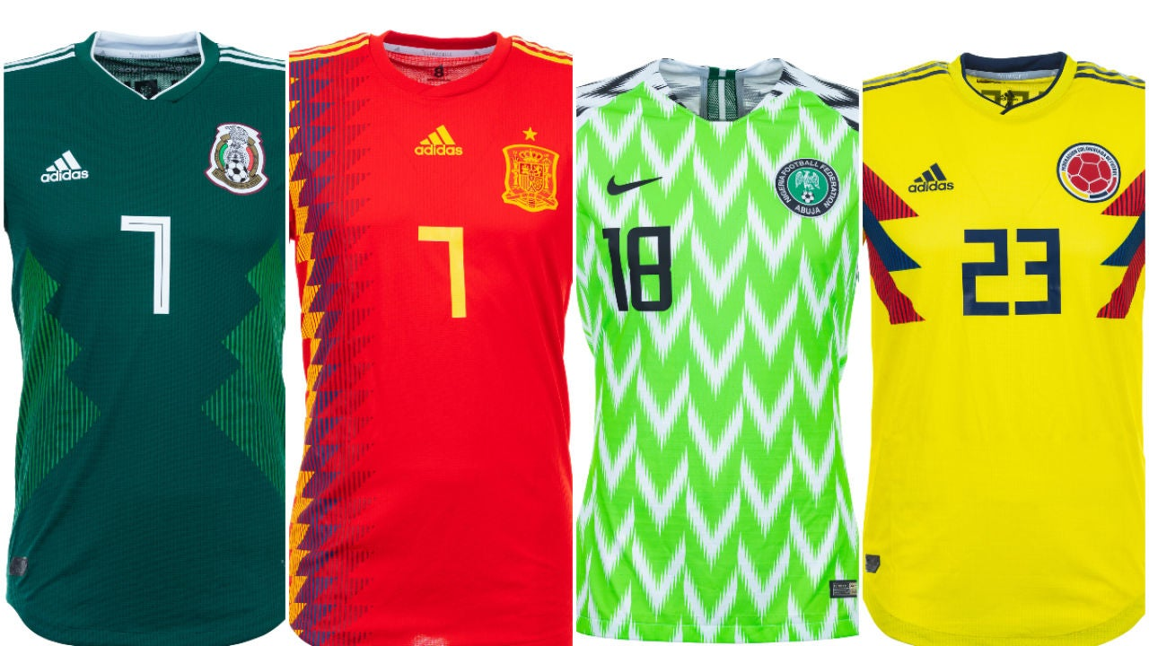 marca famosa artesanía exquisita la venta de zapatos Las 32 camisetas de las selecciones en el Mundial de Rusia 2018