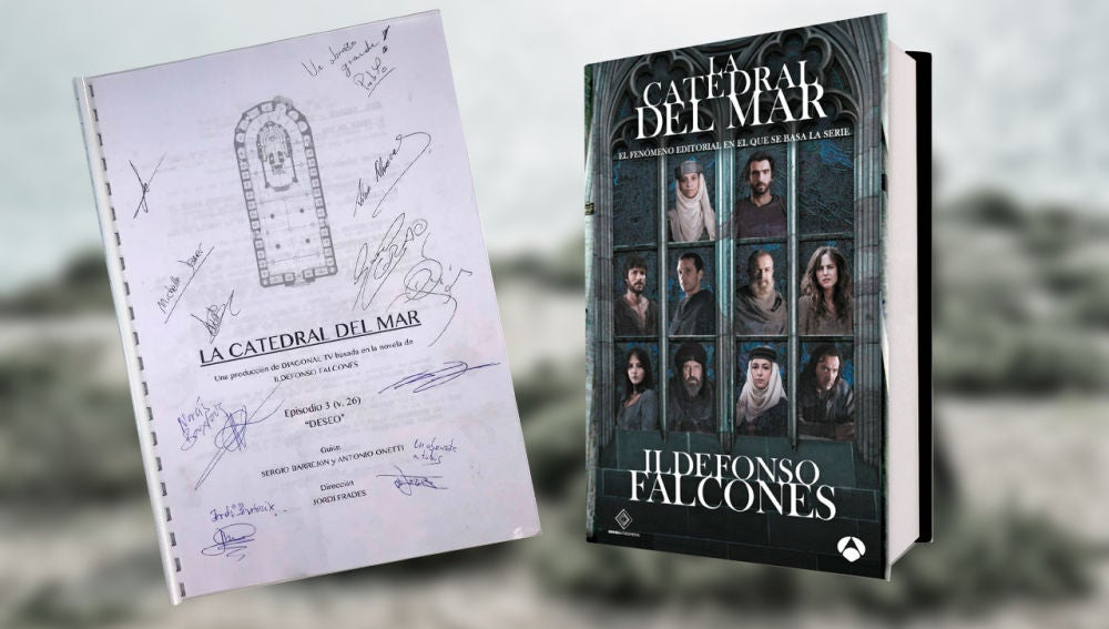 Participa aquí para conseguir el tercer guion firmado y un ejemplar del libro de 'La Catedral del Mar'