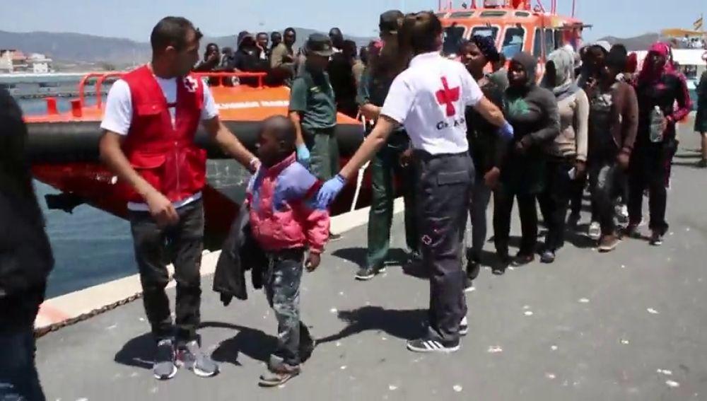 Rescatados más de 50 inmigrantes en las costas de Granada