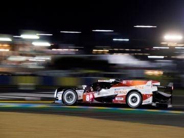 Fernando Alonso, en el circuito de La Sarthe