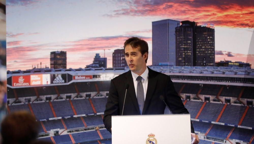 Julen Lopetegui, presentado como nuevo entrenador del Real Madrid