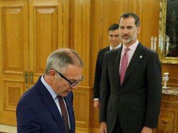 José Guirao promete su cargo ante el Rey