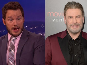 Chris Pratt y John Travolta se han conocido y es amor