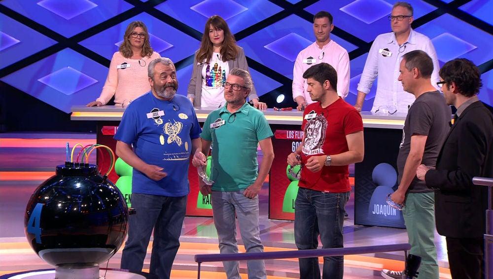 José, del equipo de 'Los Lobos', protagoniza un emotivo momento en '¡Boom!'