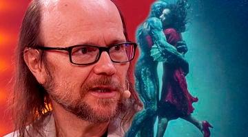 Santiago Segura comenta la obra de arte que envío a Guillermo del Toro sobre el anfibio de 'La forma del agua'