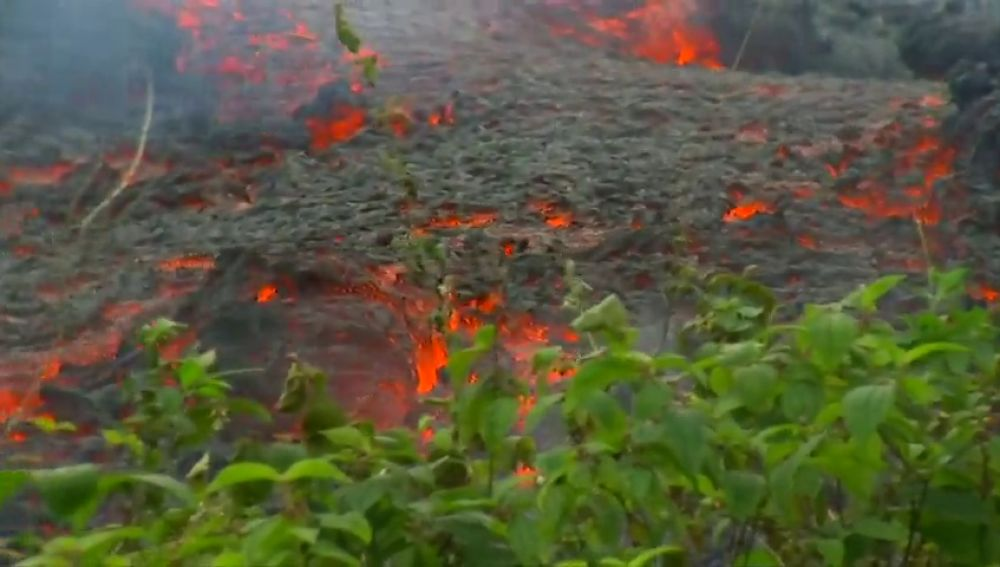 El volcán Kilauea escupe gemas