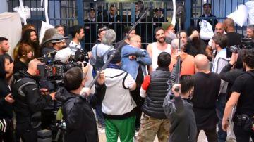 El making of del 'rap de la cárcel' interpretado por La cuadrilla