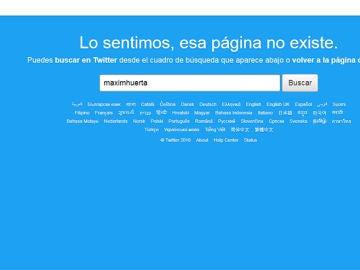 Màxim Huerta cierra su cuenta de Twitter