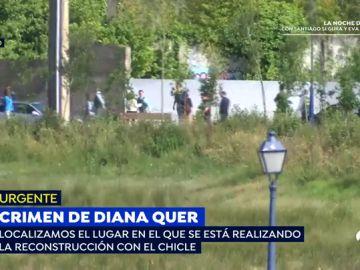'El Chicle' participa en una reconstrucción de los hechos sobre la muerte de Diana Quer