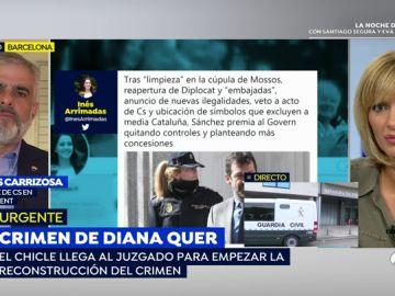 """Carrizosa (C's): """"El traslado de presos no puede ser el pago de una hipoteca de los votos del separatismo a Sánchez"""""""