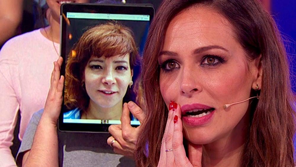 """Eva González reparte dinero entre el público de 'La noche de Rober' por """"la cara"""""""