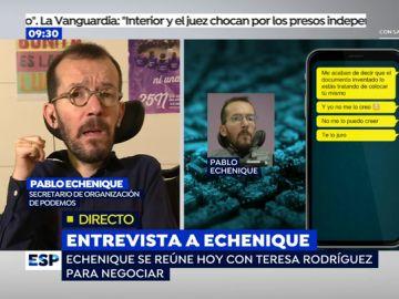 Pablo Echenique en Espejo Público