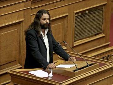 Konstantinos Barbarusis, diputado del partido neonazi griego Amanecer Dorado