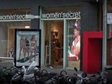 Fachada de una tienda de Women Secret