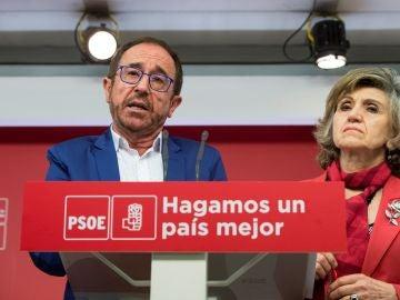 El secretario de Justicia y Nuevos Derechos del PSOE, Andrés Perello