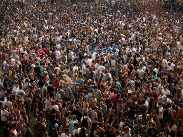 Imagen de archivo del festival Sónar