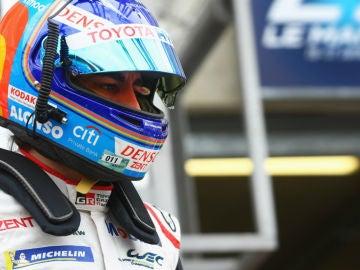 Fernando Alonso, en Le Mans