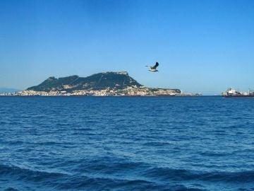 Gibraltar desde el mar